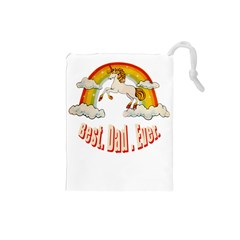Best  Dad  Ever Drawstring Pouches (small)