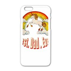 Best. Dad. Ever Apple iPhone 6 White Enamel Case