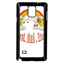 Best. Dad. Ever Samsung Galaxy Note 4 Case (Black)