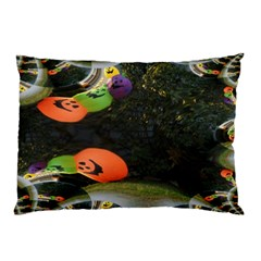 Floating Pumpkins Pillow Cases (Two Sides)