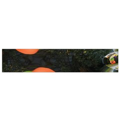 Floating Pumpkins Flano Scarf (small)