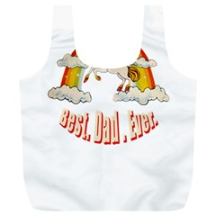 Best  Dad  Ever Full Print Recycle Bags (l)