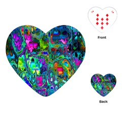 Inked Spot Playing Cards (heart)