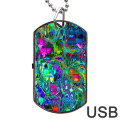 Inked Spot Dog Tag USB Flash (Two Sides)