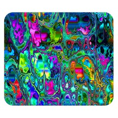 Inked Spot Fractal Art Double Sided Flano Blanket (small)