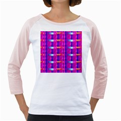 Pink Cell Mate Girly Raglans