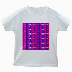 Pink Cell Mate Kids White T Shirts