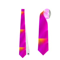 Pink Cell Mate Neckties (one Side)