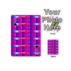 Pink Cell Mate Playing Cards 54 (mini)