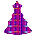 Pink Cell Mate Ornament (Christmas Tree) Front