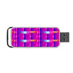 Pink Cell Mate Portable USB Flash (One Side)