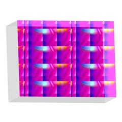 Pink Cell Mate 5 x 7  Acrylic Photo Blocks