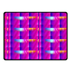 Pink Cell Mate Double Sided Fleece Blanket (small)