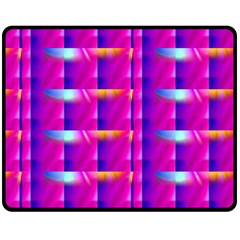 Pink Cell Mate Double Sided Fleece Blanket (Medium)