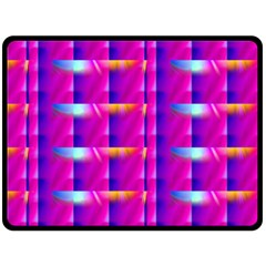 Pink Cell Mate Double Sided Fleece Blanket (large)