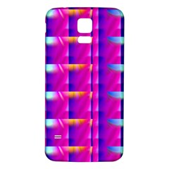 Pink Cell Mate Samsung Galaxy S5 Back Case (White)