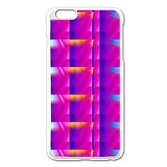 Pink Cell Mate Apple iPhone 6 Plus Enamel White Case