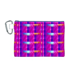 Pink Cell Mate Canvas Cosmetic Bag (M)