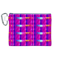 Pink Cell Mate Canvas Cosmetic Bag (XL)