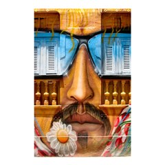 Graffiti Sunglass Art Shower Curtain 48  x 72  (Small)