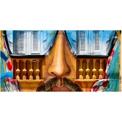 Graffiti Sunglass Art You Are Invited 3d Greeting Card (8x4)
