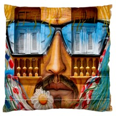 Graffiti Sunglass Art Standard Flano Cushion Cases (one Side)