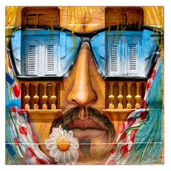 Graffiti Sunglass Art Large Satin Scarf (Square)