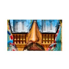 Graffiti Sunglass Art Satin Wrap