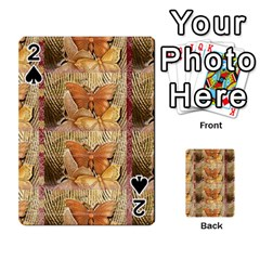 Butterflies Playing Cards 54 Designs