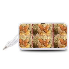 Butterflies Portable Speaker (White)