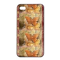 Butterflies Apple Iphone 4/4s Seamless Case (black)