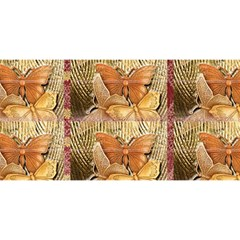 Butterflies You Are Invited 3d Greeting Card (8x4)