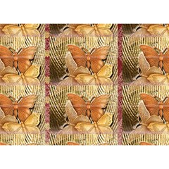 Butterflies Birthday Cake 3D Greeting Card (7x5)