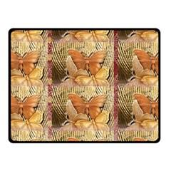 Butterflies Double Sided Fleece Blanket (small)