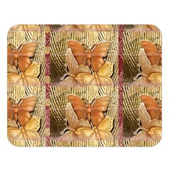 Butterflies Double Sided Flano Blanket (Large)