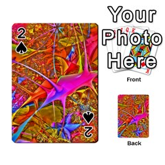 Biology 101 Abstract Playing Cards 54 Designs