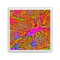 Biology 101 Abstract Memory Card Reader (square)