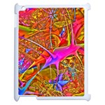 Biology 101 Abstract Apple iPad 2 Case (White) Front