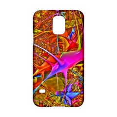 Biology 101 Abstract Samsung Galaxy S5 Hardshell Case
