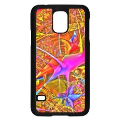 Biology 101 Abstract Samsung Galaxy S5 Case (black)
