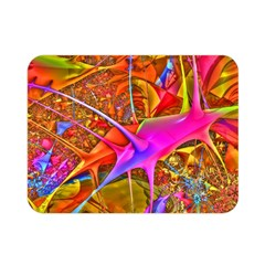 Biology 101 Abstract Double Sided Flano Blanket (Mini)