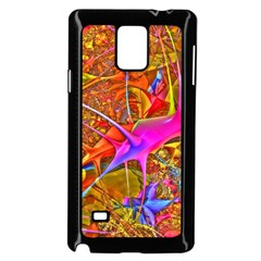 Biology 101 Abstract Samsung Galaxy Note 4 Case (Black)