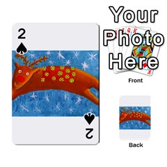Rudolph The Reindeer Playing Cards 54 Designs