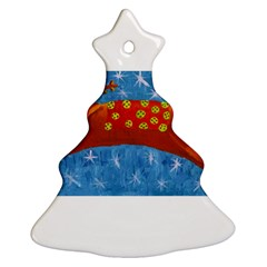 Rudolph The Reindeer Christmas Tree Ornament (2 Sides)