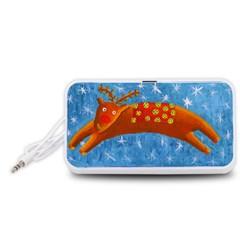 Rudolph The Reindeer Portable Speaker (white)