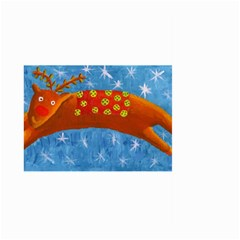 Rudolph The Reindeer Large Garden Flag (Two Sides)