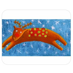 Rudolph The Reindeer Double Sided Flano Blanket (Medium)