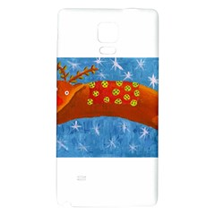 Rudolph The Reindeer Galaxy Note 4 Back Case