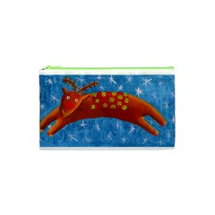 Rudolph The Reindeer Cosmetic Bag (XS)