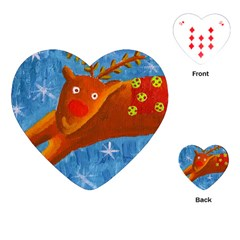 Rudolph The Reindeer Playing Cards (Heart)